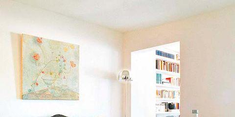 Room, Wood, Interior design, Furniture, Floor, Flooring, Wall, Teal, Turquoise, Orange,