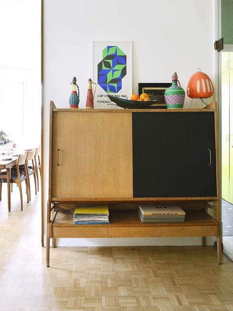Wood, Sideboard, Floor, Furniture, Flooring, Room, Hardwood, Plywood, Wood stain, Cabinetry,