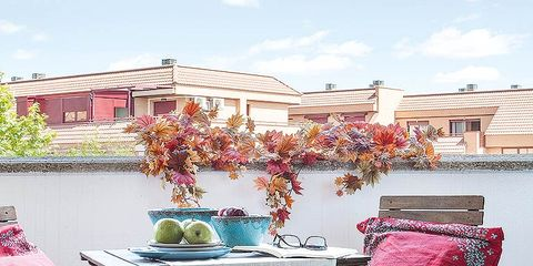 Furniture, Pink, Table, Tablecloth, Outdoor furniture, Linens, Outdoor table, Residential area, Home accessories, Kitchen & dining room table,