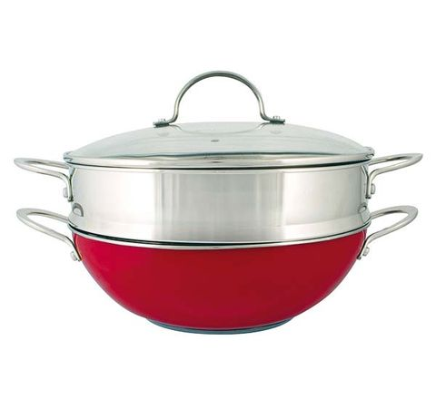 Cookware and bakeware, Lid, Serveware, Metal, Saucepan, Kitchen appliance accessory, Silver, Still life photography, Sauté pan, Aluminium,