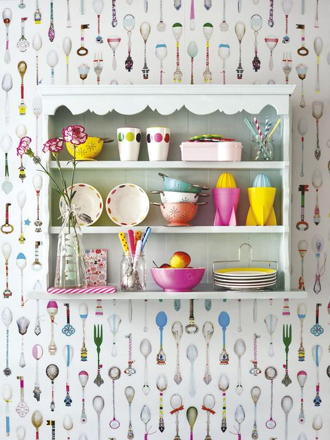 Dishware, Serveware, Pink, Shelving, Interior design, Shelf, Collection, Porcelain, Cupboard, Bowl,