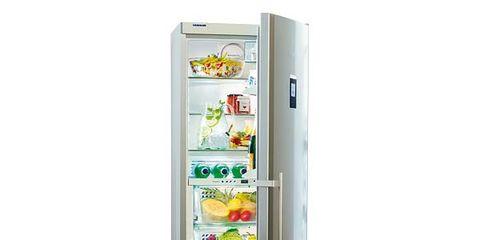 Refrigerator, Freezer, Major appliance, Kitchen appliance, Food, Home appliance, Food group, Ingredient, Machine, Food storage containers,