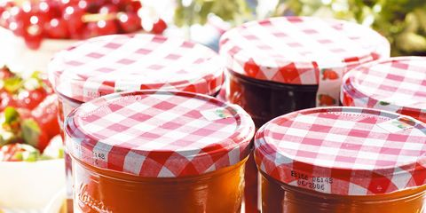 Food, Natural foods, Produce, Fruit, Local food, Ingredient, Fruit preserve, Jam, Seedless fruit, Food storage containers,