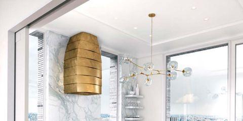 Room, Furniture, Countertop, Property, Kitchen, Interior design, Cabinetry, Ceiling, Building, Floor,