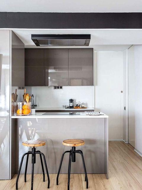 30 ideas para abrir la cocina al salón - Espacios integrados