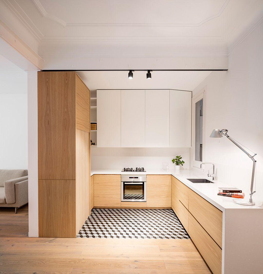 30 ideas para abrir la cocina al salón