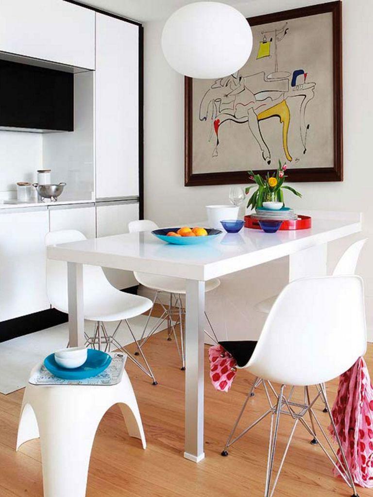 30 ideas para abrir la cocina al sal n for Modelo de cocina abierta en el comedor