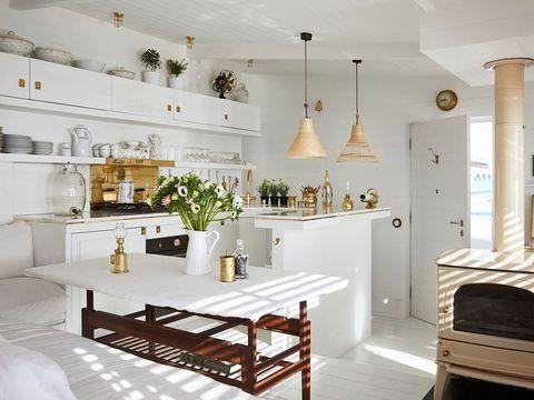 30 ideas para abrir la cocina al sal n espacios integrados for Concepto de cocina abierta