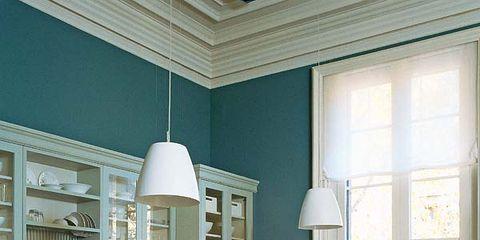 Interior design, Floor, Room, Property, Flooring, Glass, White, Ceiling, Light fixture, Tile,