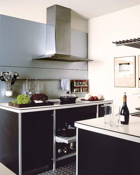 Room, White, Bottle, Glass bottle, Drink, Kitchen, House, Countertop, Wine bottle, Grey,