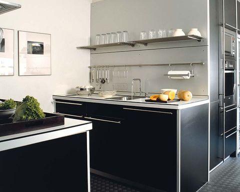 Room, Major appliance, White, Kitchen, Floor, Kitchen appliance, Fixture, Home appliance, Grey, Kitchen appliance accessory,