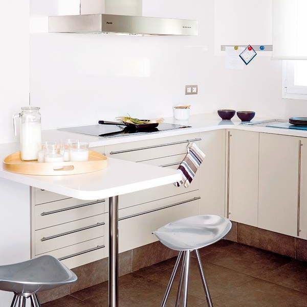 12 Cocinas Con Barra Y Sus Planos Reformas