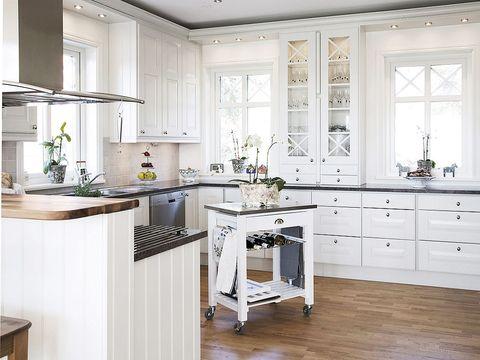 Una cocina de estilo nórdico