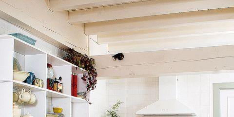 Room, Interior design, Floor, White, Ceiling, Flooring, Interior design, Home, Kitchen, House,
