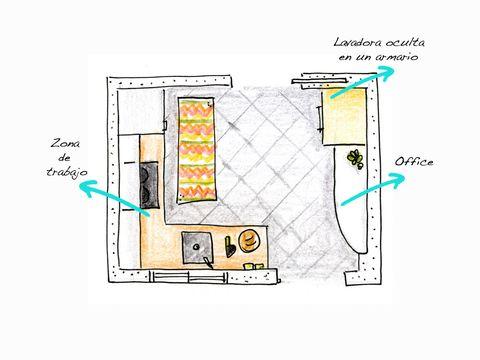 Columna horno microondas junto frigorifico en este caso for Mueble escobero conforama