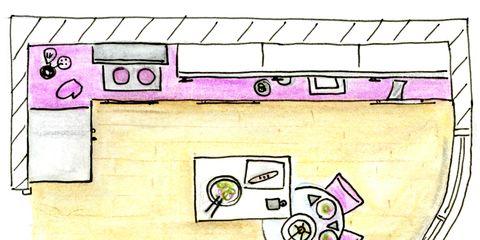 Purple, Pink, Line, Magenta, Violet, Parallel, Lavender, Rectangle, Circle, Illustration,