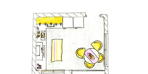 Yellow, Line, Parallel, Rectangle, Illustration, Drawing, Plan, Sketch, Graphics, Line art,