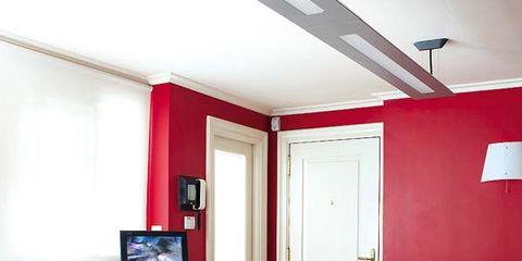 Wood, Room, Floor, Lighting, Interior design, Property, Flooring, Table, Furniture, Ceiling,