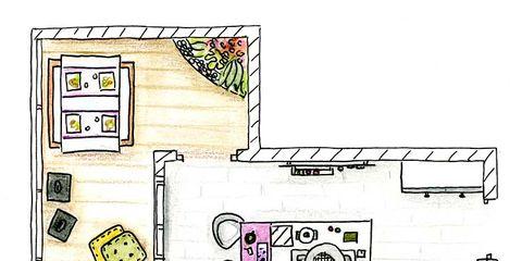 Laptop part, Pink, Line, Purple, Magenta, Home, Rectangle, House, Parallel, Lavender,
