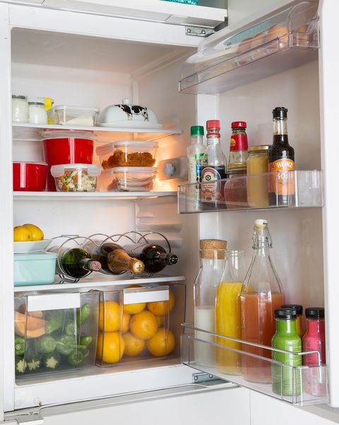 interior de frigorífico