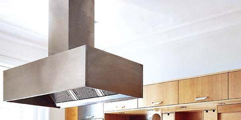 Room, Interior design, Furniture, Kitchen, Kitchen appliance, Countertop, Plywood, Cabinetry, House, Interior design,