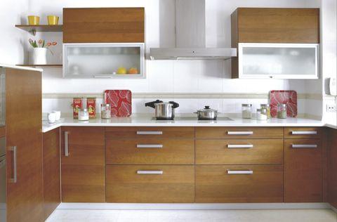Room, Green, White, Drawer, Line, Cabinetry, Interior design, Floor, Kitchen, Plywood,