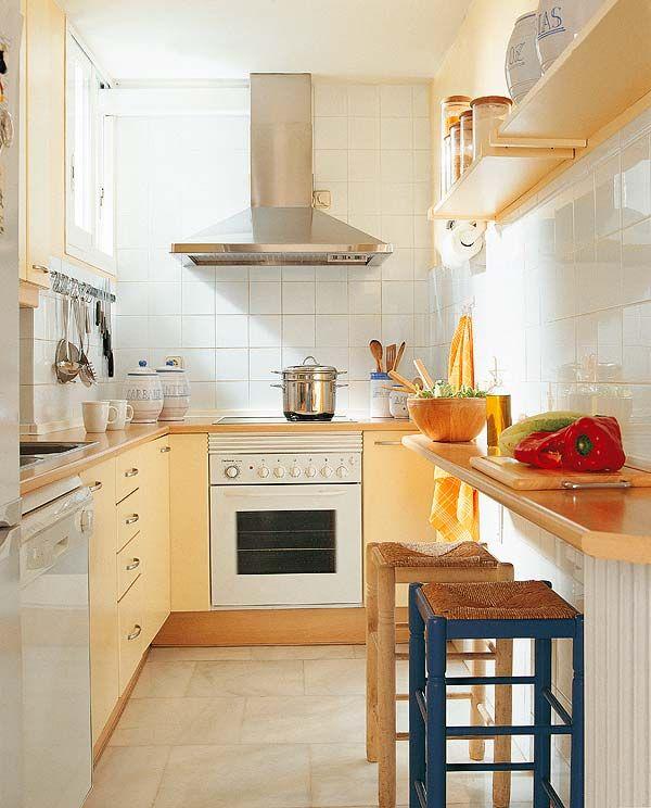 Cocinas pequeas con planos