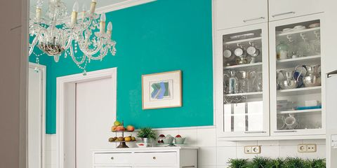 Green, Room, Interior design, White, Floor, Home, Teal, Wall, Turquoise, Interior design,