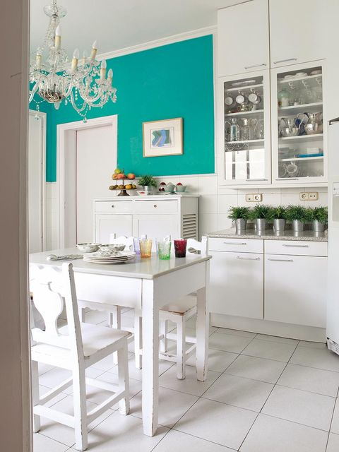 Product, Room, Interior design, Green, White, Floor, Wall, Teal, Turquoise, Interior design,