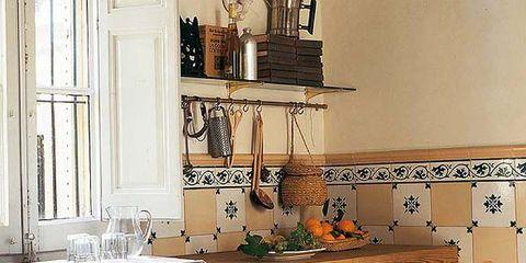 Una cocina retro inspirada en el pasado