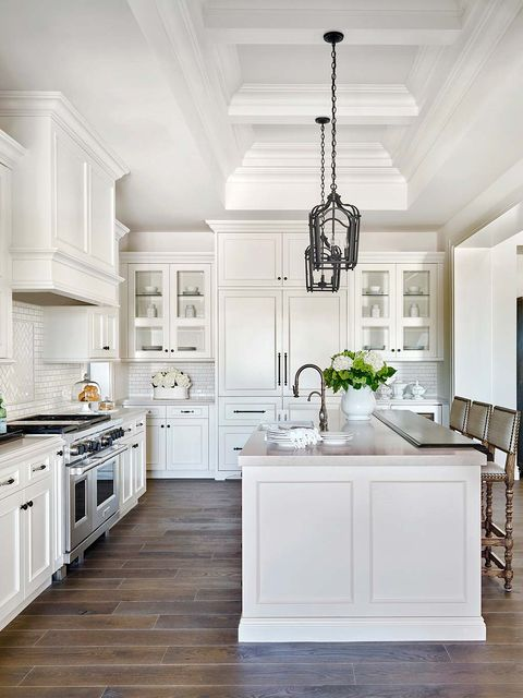 Countertop, White, Furniture, Cabinetry, Room, Kitchen, Property, Interior design, Floor, Ceiling,