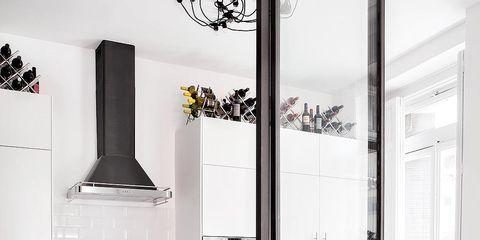 Room, Interior design, Floor, Wall, Flooring, Interior design, Fixture, Countertop, Grey, Home,