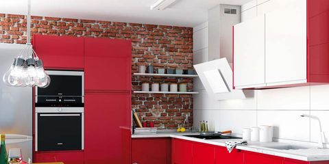 Room, Lighting, Interior design, Floor, Countertop, Interior design, Home, Kitchen, Table, Ceiling,
