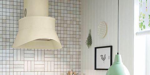 Green, Room, Interior design, White, Lampshade, Serveware, Interior design, Home, Tablecloth, Kitchen,