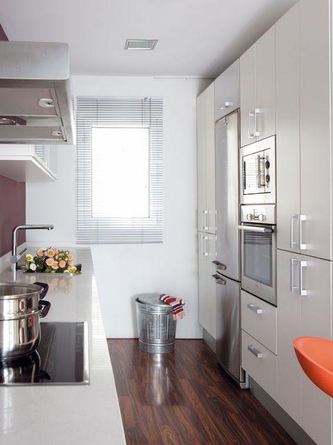 Room, Interior design, Floor, Ceiling, Wall, Flooring, Kitchen appliance, Major appliance, Home appliance, Interior design,