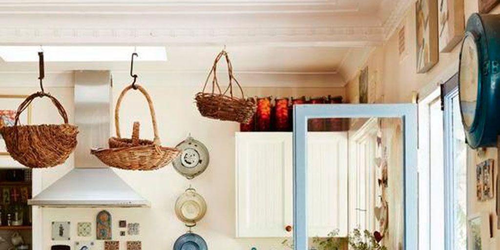 17 cocinas r sticas con encanto - Cocinas pequenas con encanto ...