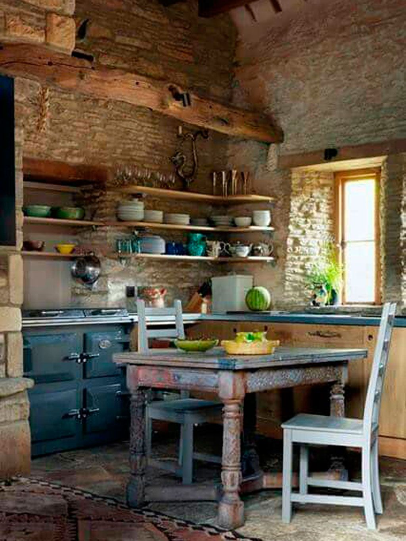17 Cocinas Rusticas Con Encanto Cocinas De Estilo Rustico