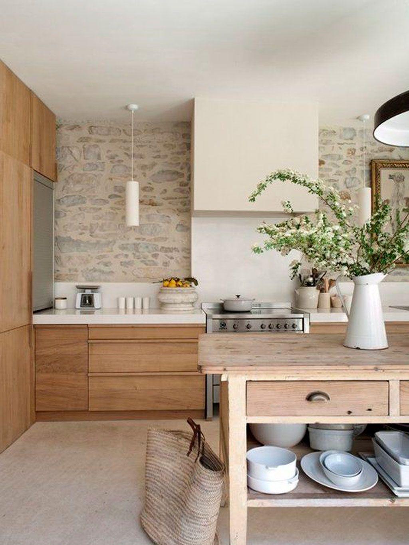 17 Cocinas Rusticas Con Encanto - Cocinas-rusticas-modernas-fotos