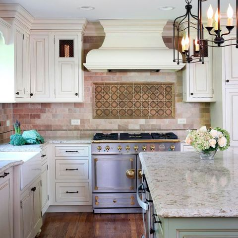Countertop, Cabinetry, Room, Kitchen, Furniture, Property, Tile, Interior design, Floor, Ceiling,