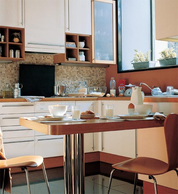 Ideas para ganar un comedor de diario en la cocina (por pequeña que sea)