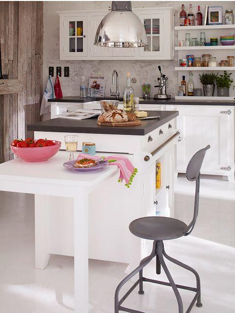 Room, Interior design, Furniture, Serveware, Kitchen, Countertop, Dishware, Cabinetry, Interior design, Home,