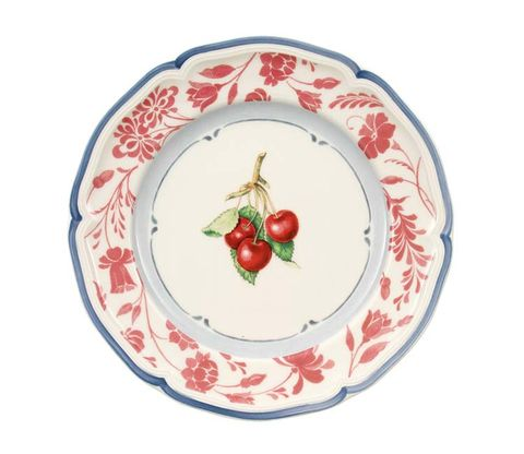 Dishware, Serveware, Fruit, Produce, Natural foods, Ingredient, Plate, Tomato, Platter, Vegetable,
