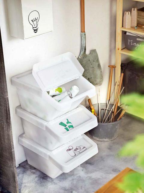 Cubos Y Contenedores Para Reciclar