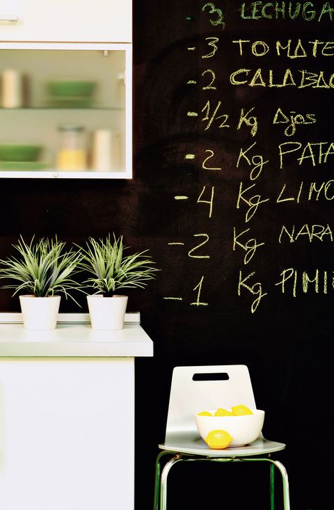 Flowerpot, Green, Blackboard, Handwriting, Chalk, Houseplant, Serveware, Ceramic, Porcelain, Writing,