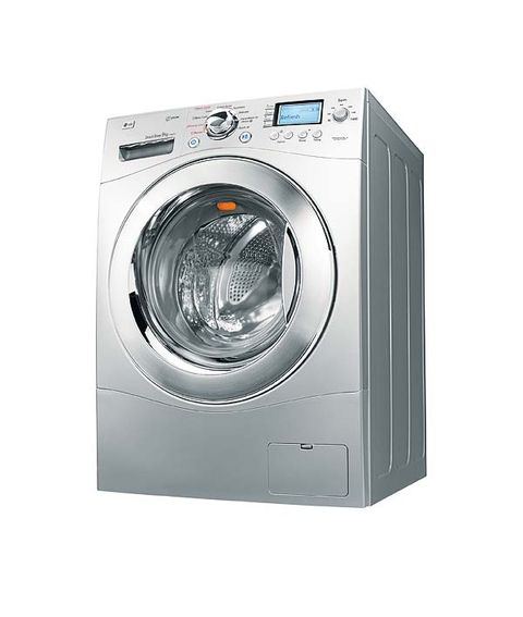 Product, Washing machine, Clothes dryer, Photograph, Major appliance, White, Line, Colorfulness, Font, Circle,