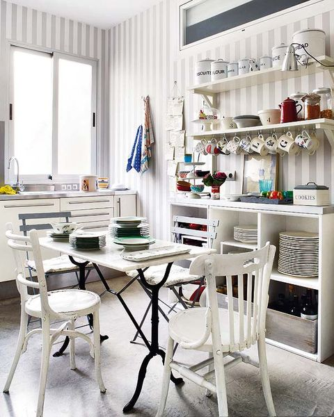 Room, Interior design, Furniture, Shelf, Floor, Shelving, Table, Flag, Chair, Interior design,