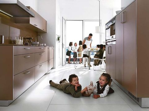Floor, Human body, Flooring, Room, Cabinetry, Comfort, Kitchen, Cupboard, Countertop, Drawer,
