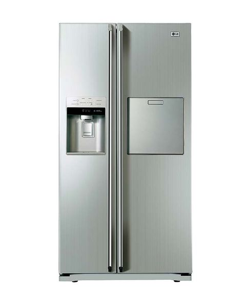 Product, Major appliance, White, Home appliance, Grey, Metal, Machine, Refrigerator, Aluminium, Silver,