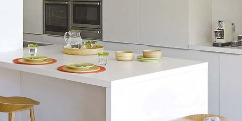 Kitchen, Dishware, Major appliance, Serveware, Kitchen appliance, Home accessories, Stool, Cooking, Toy, Home appliance,
