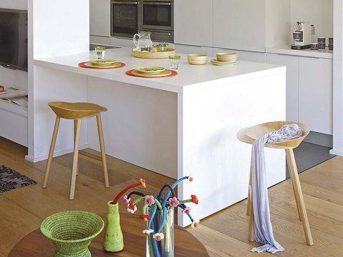 Elegantes taburetes para la barra - Taburete barra cocina ...